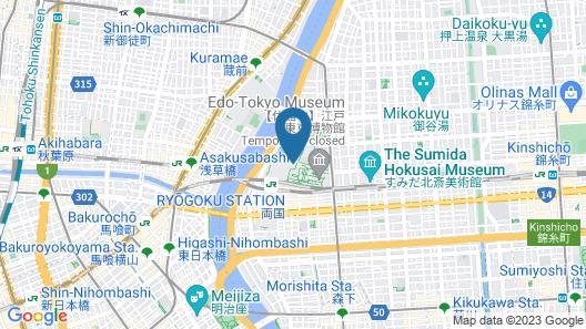 APA Hotel & Resort <Ryogoku-Eki Tower> Map