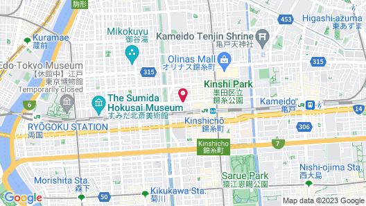 Tobu Hotel Levant Tokyo Map