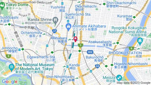 remm Akihabara Map