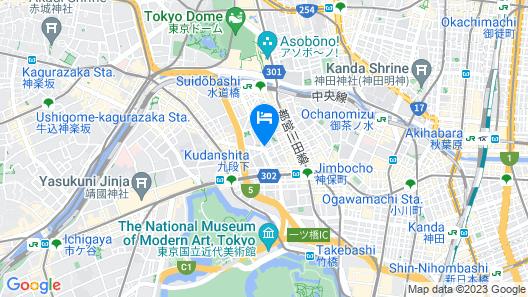 Hotel Villa Fontaine Tokyo-Kudanshita Map