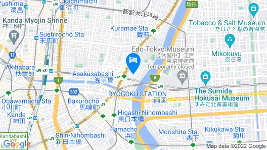 Web Hotel Tokyo Asakusabashi Map