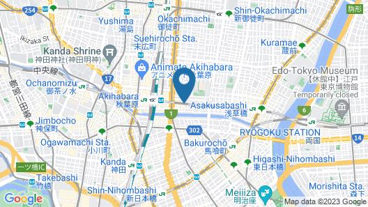 Le Tour Hotel Akihabara-Ekimae Map