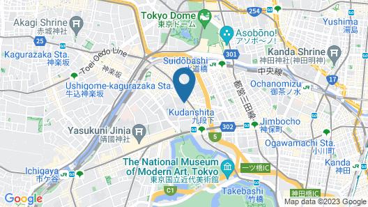 APA Hotel Tokyo-Kudanshita Map