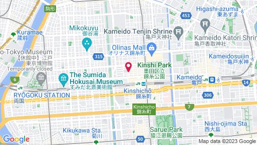 Capsule Inn Kinshicho Map