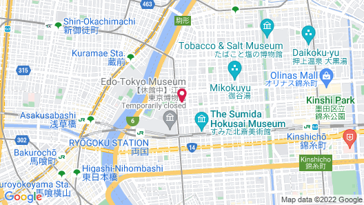 Hotel Arcsens Map