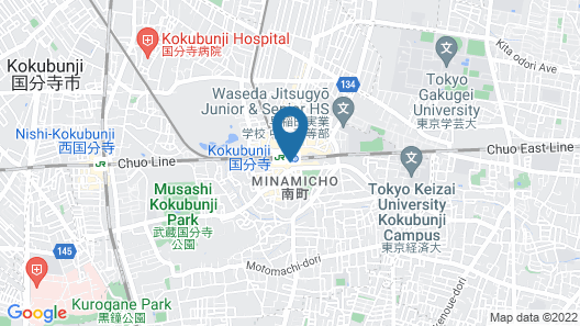 JR-EAST HOTEL METS KOKUBUNJI Map