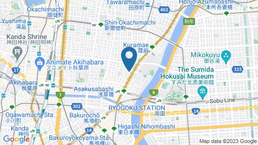 APA Hotel Asakusabashi-Ekikita Map