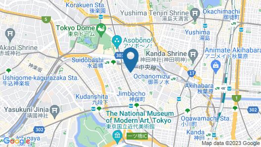 Hotel Niwa Tokyo Map