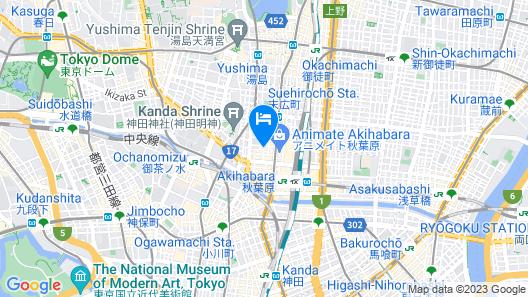 APA Hotel Akihabaraeki Denkigaiguchi Map