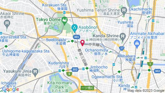Tokyu Stay Suidobashi Map
