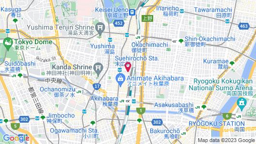 Dormy Inn Akihabara Hot Spring Map