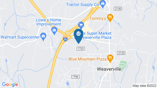 Fairfield Inn & Suites by Marriott Asheville Weaverville Map