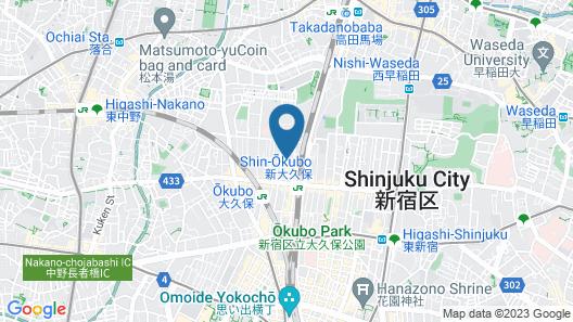 Hotel Hanabi Map