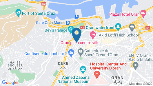 Royal Hotel Oran - MGallery by Sofitel Map