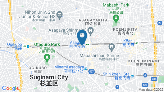 Smile Hotel Tokyo Asagaya Map