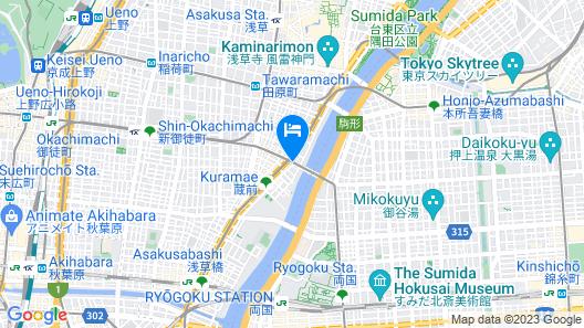 Hiromas Hostel Kura - Hostel Map