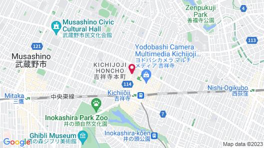 Kichijoji Daiichi Hotel Map