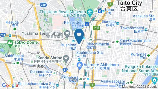 MIMARU TOKYO UENO OKACHIMACHI Map