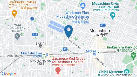 Richmond Hotel Tokyo Musashino Map