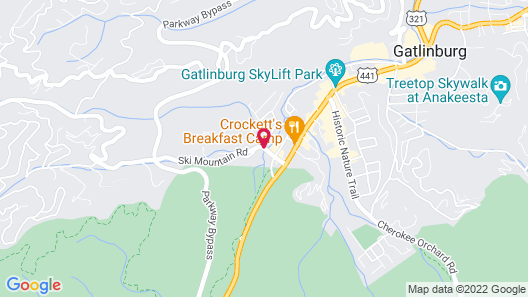 SureStay Plus Hotel by Best Western Gatlinburg Map