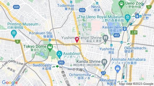 Hotel Kizankan Map