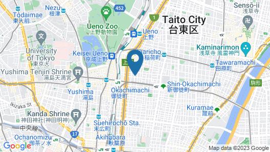 Minn Ueno Map