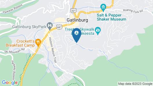 Gatlinburg Towers Map