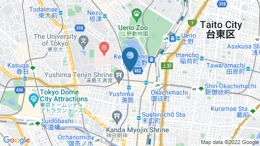 Centurion Ladies Hostel Ueno Park - Caters to Women Map