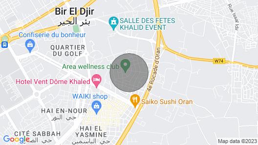 Appartement & Quartier à découvrir Map