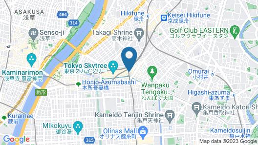 Richmond Hotel Premier Tokyo Oshiage Map