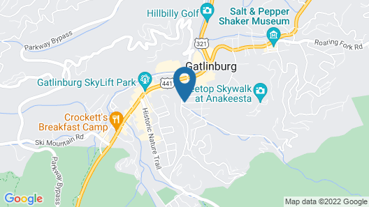 Mountain House Inn Map