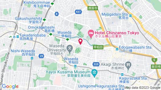 RIHGA Royal Hotel Tokyo Map