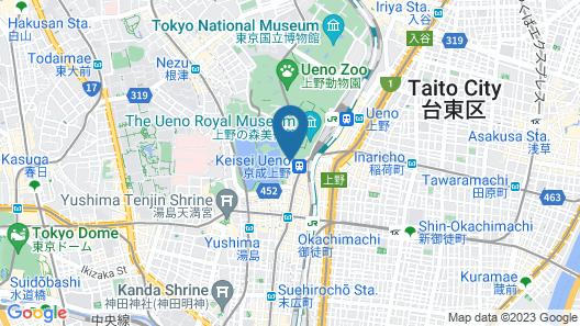 APA Hotel Keisei Ueno-Ekimae Map
