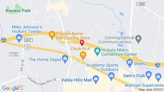Fairfield Inn & Suites by Marriott Hickory Map