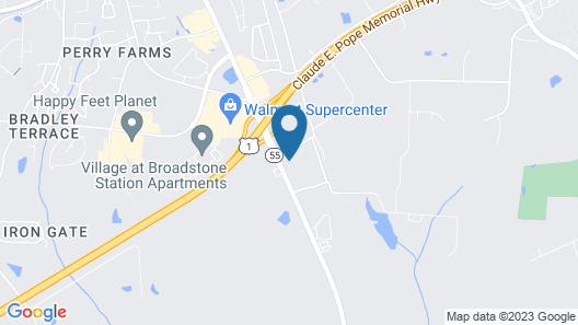 Comfort Inn Apex - Holly Springs Map