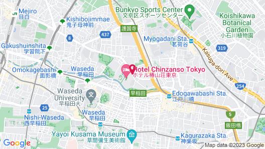 Hotel Chinzanso Tokyo Map