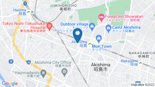 Tokyo Akishima Guest House Map