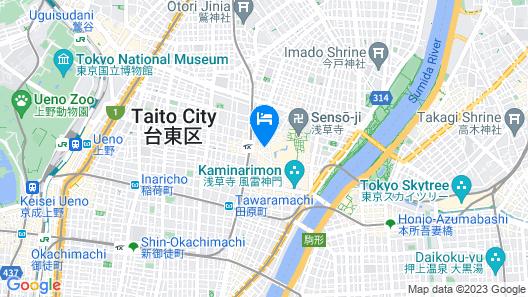 Richmond Hotel Premier Asakusa International Map