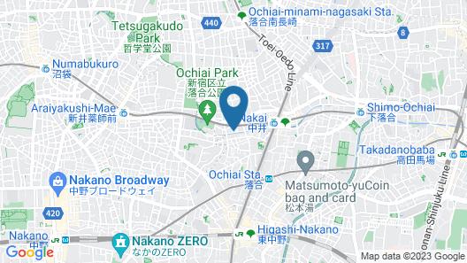 Kyonichi Hotel Shinjuku Map