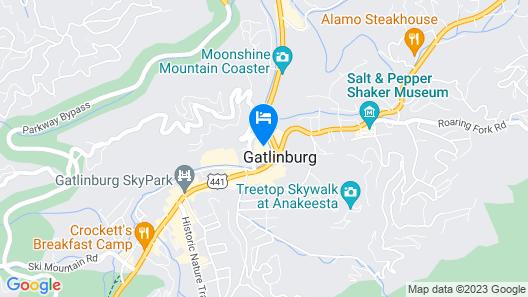 Margaritaville Resort Gatlinburg Map