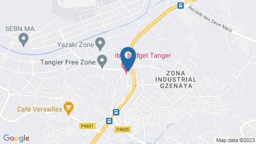 Senator Hotel Tanger Map