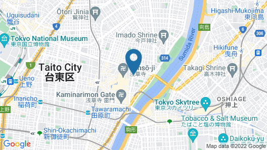 Via Inn Asakusa Map