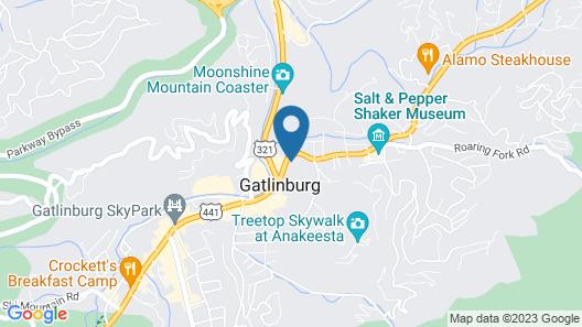 Clarion Pointe Downtown Gatlinburg Map