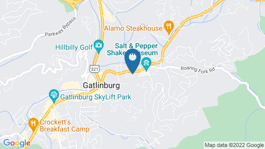 Gatlinburg Mountain Inn Map