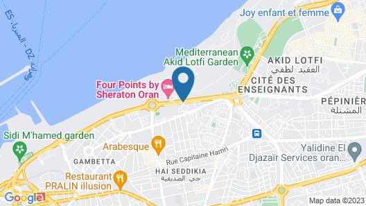 Sheraton Oran Hotel Map