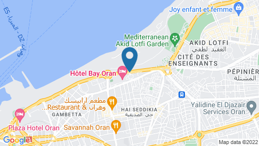 Hotel Oran Bay Managed By Accor Map