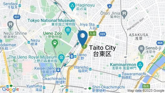 MIMARU TOKYO UENO NORTH Map