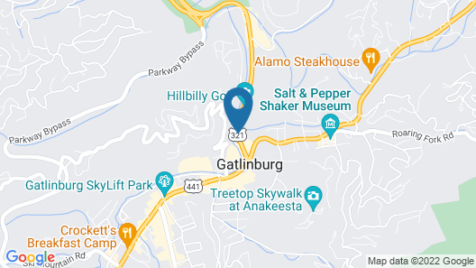 Crossroads Inn & Suites Map