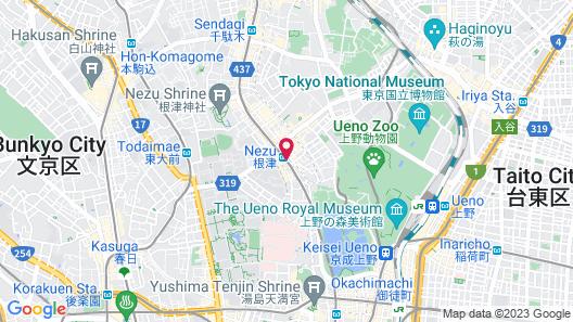 Castle Apartment Nezu Map