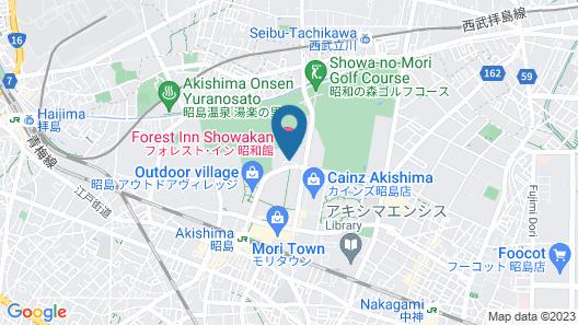 Forest Inn Showakan Map